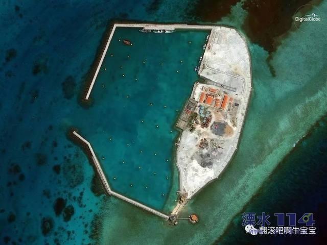 网友们看看咱们中国南海岛礁现状,难怪美日狗急跳墙.